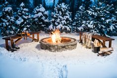 How To Enjoy A Winter Fire Pit