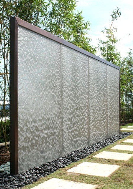 wall water feature landscaping ideas