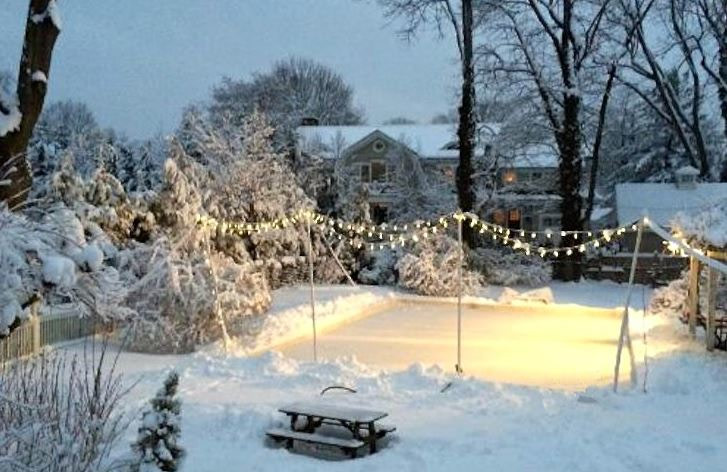 How to Make an Ice-Skating Rink in your Backyard