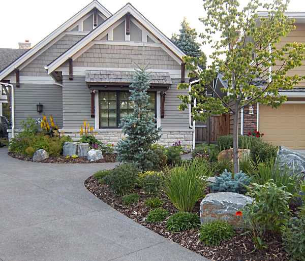 Lawn Begone 7 Ideas For Front Garden Landscapes: Landscaping Ideas On A Budget